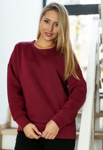 BLUZA SECRET - bordo