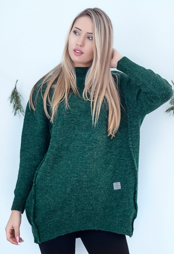 SWETER WISH - zielony